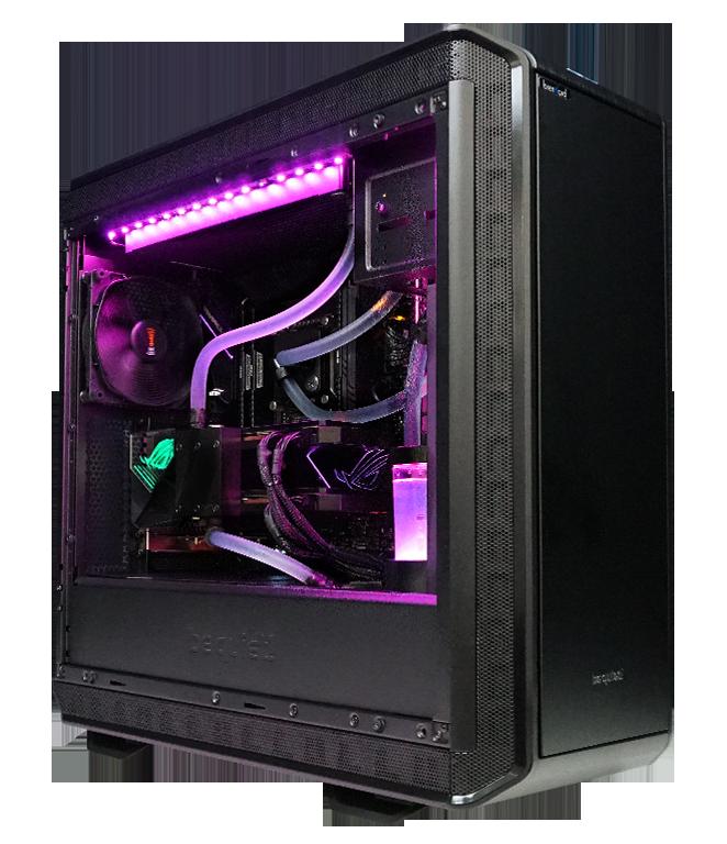 PC mit Wasserkühlung & Silent Gaming