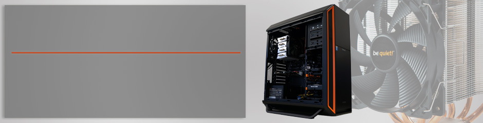 Extra leise und lautlose Desktop PC