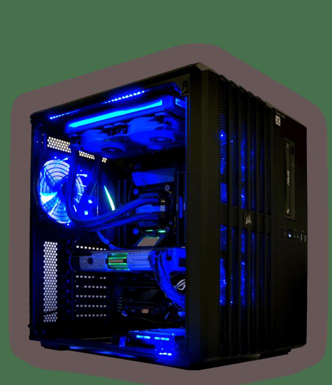 Stärkster brentford Gamer PC mit Titan Xp Starwars Edition Grafik