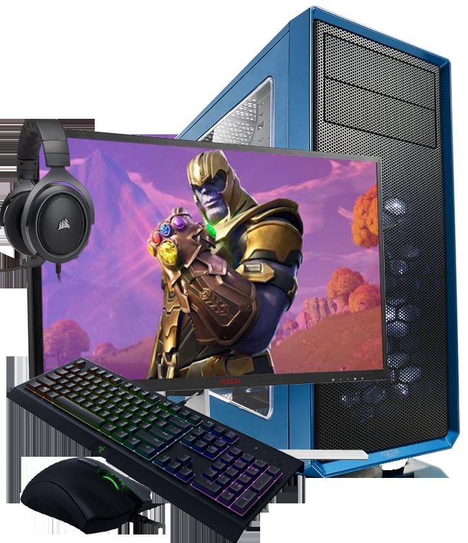 Gamer PC Bundle Angebote optimiert für unterschiedliche Games