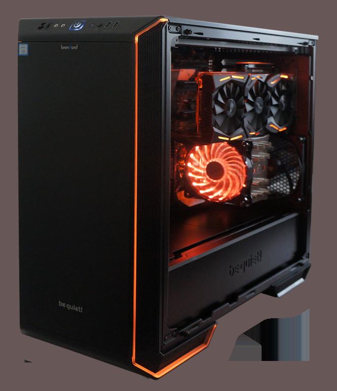 brentford Gamer PC RGB Series