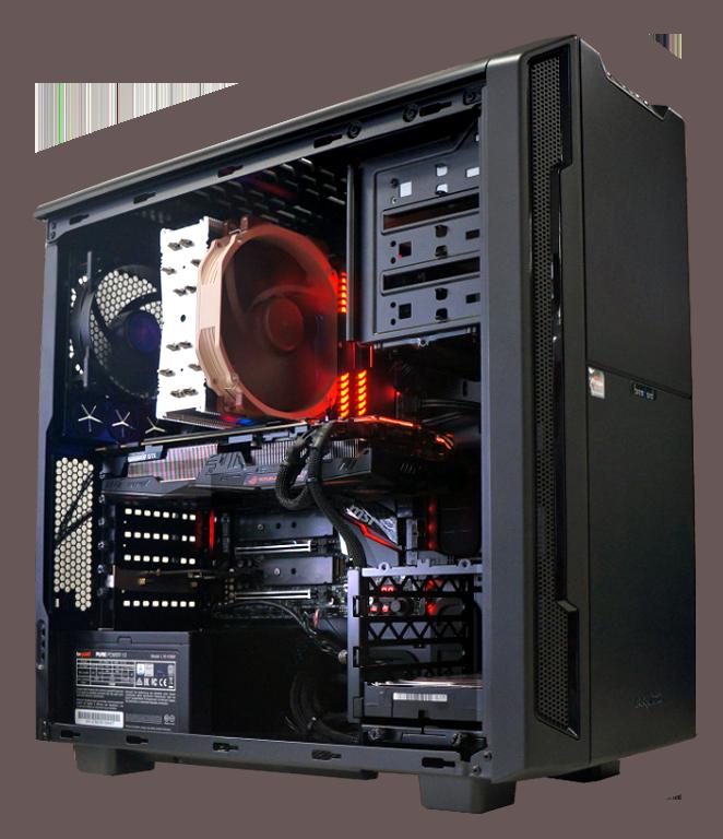 Game Streaming PC mit starker Prozessorleistung und Capture Card