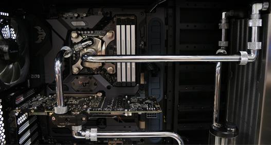 PC mit Wasserkühlung