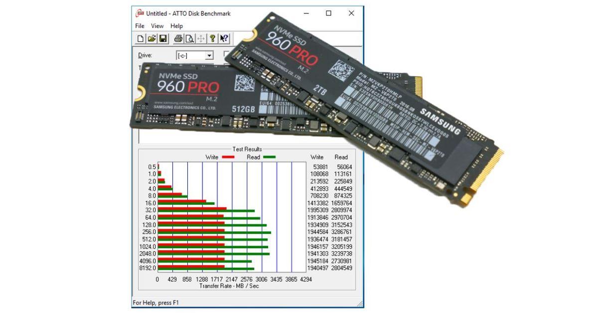 Samsung 960 pro pc