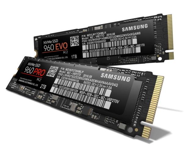 Samsung 960 SSD PC
