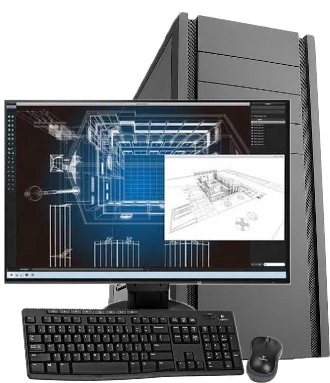 Workstation Bundle Angebote für CAD / 3D / Grafik