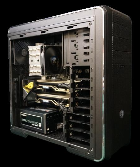 Starke GPU Workstation mit individueller Konfiguration