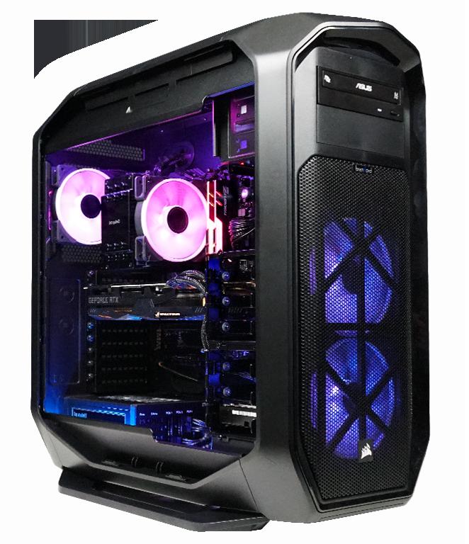 Game Streaming PC mit starker Prozessorleistung und Game Capture Karten