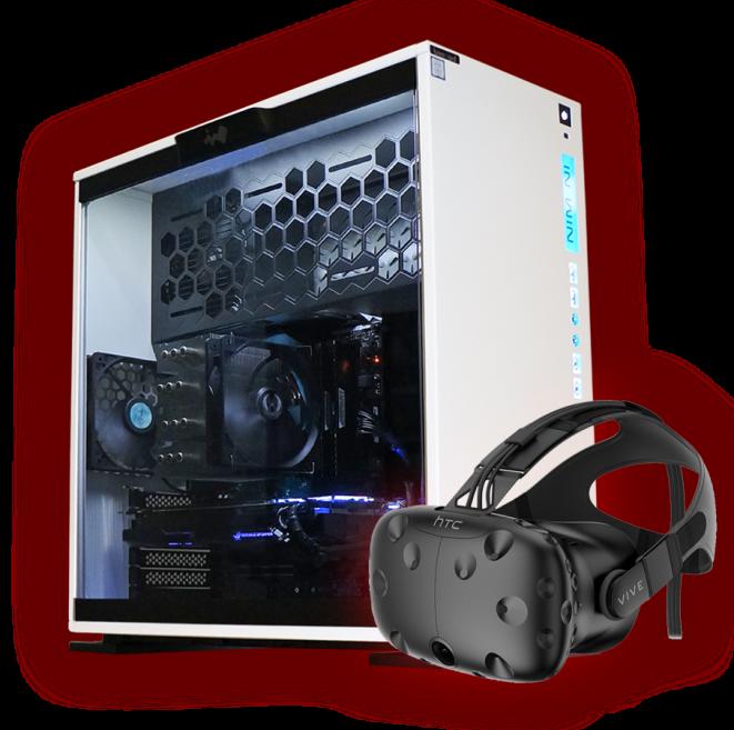 PC mit top Performance für Virtual Reality Anwendungen