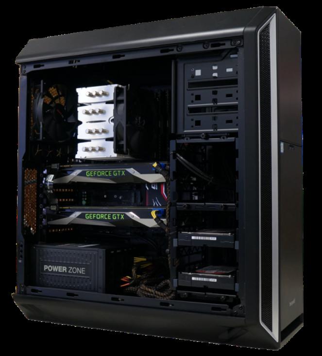 brentford 3D Workstations für Visualisierungen und Renderaufgaben