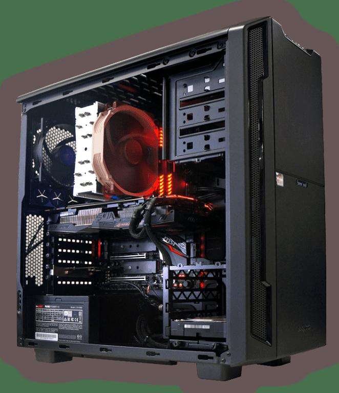AMD Gaming PC für ein starkes Preis-Leistungsverhältnis