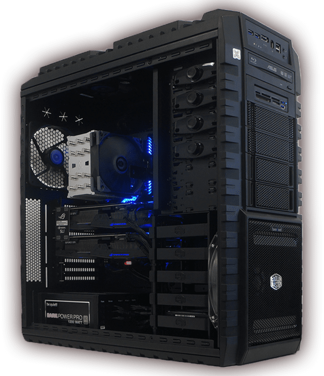 Gaming PC - grösster Online Konfigurator der Schweiz