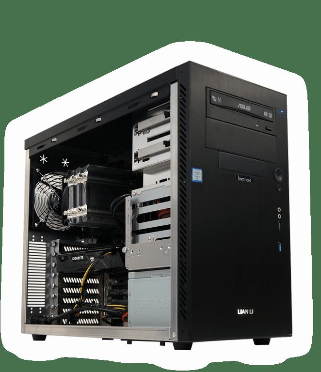 brentford Workstations mit Windows 7 und individueller Zusammenstellung