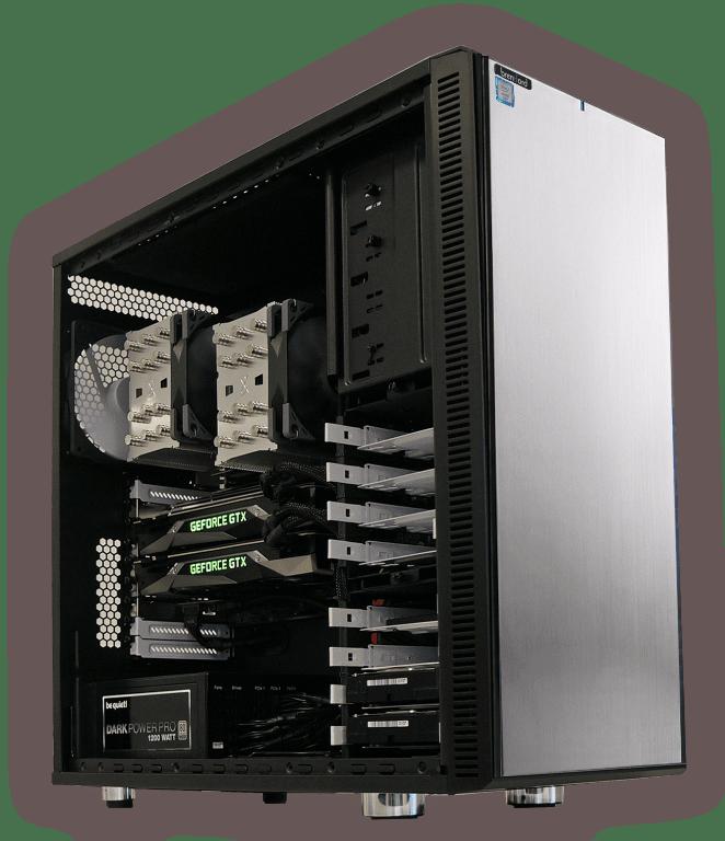 Workstations - High End PCs von Profis in der Schweiz gebaut
