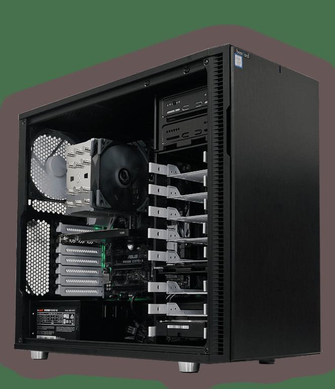 brentford Workstations mit starker Profi-Grafik: Nvidia Quadro oder AMD ATI