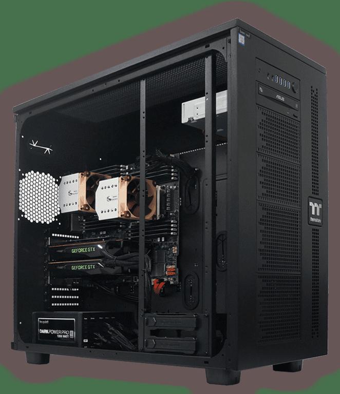 brentford Workstations und Server mit maximaler Prozessorleistung