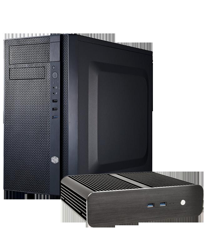 Stabile PC mit flexibler Konfiguration für industriellen Einsatz
