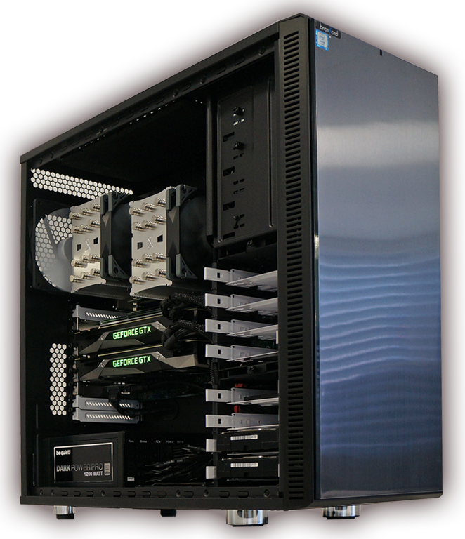 brentford Workstations mit AMD Epyc / Intel Xeon Prozessor