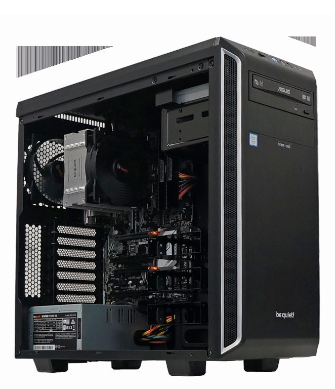 brentford Office PC bieten viel Leistung und überzeugen mit leisem Betrieb