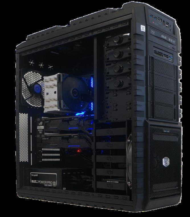 brentford Workstations und Server mit maximaler GPU Performance