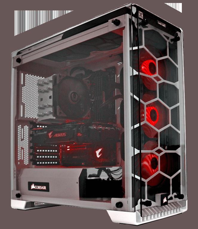 brentford Gamer und Flugsimulator PC - von Profis in der Schweiz gebaut
