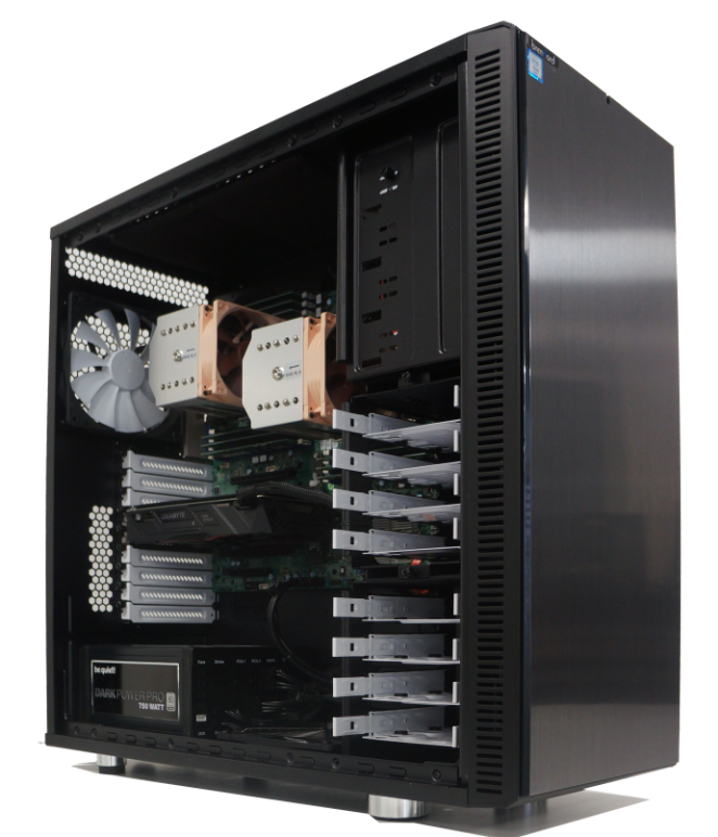 brentford Workstations mit Intel Xeon Prozessor - maximale Performance